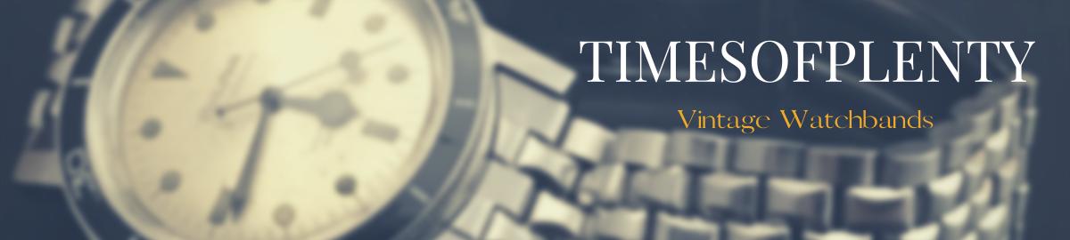 Timesofplenty Vintage Watch Bands