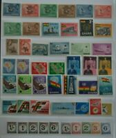 Ghana Collection 49 Different MNH All Early Issues from 1960s