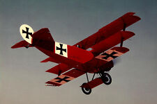 1/8 Scale German WW-I Fokker DR-1 Triplane Plans and Templates 36ws