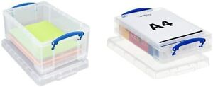 Really Useful 9 & 4 Litre Storage Box Pack