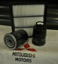 MITSUBISHI L200 AIR OIL FUEL FILTER KIT (KA4T/KB4T) 2.5 DI-D 2005-2015 NEW OEM