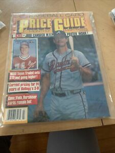 Baseball Card Price Guide Magazine Jose Canseco W/Poster March 1989 MLB Baseball