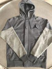 Air Jordan Varsity Hooded Grey Jacket - Size Medium
