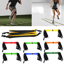 Speed Agility Ladder Soccer Football Sports Training Exercise Stairs Equipment
