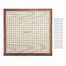 Yarn Mania - Premium Blocking Boards for Knitting with Grids - Handcrafted Wood