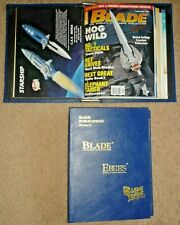 12 Blade Magazines, Knives, Complete Year 2000 Vol. 27 in Two Binders/Folders