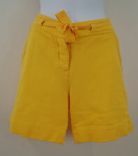 STELLA MCCARTNEY For ADIDAS Yellow 100% Cotton Casual Long Shorts M