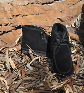 UGG BOOTS Australian Hand Made Desert Boots Premium Water Resistant Sheepskin