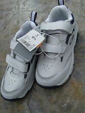 906953b27 New baby boys C9 Champion white blue leather 9.5 shoes sneakers eu 26.5