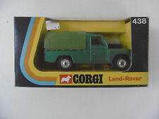CORGI TOYS  LAND ROVER  PICK UP BÂCHÉ R.438  BOITE D'ORIGINE  TRÈS BON  ÉTAT