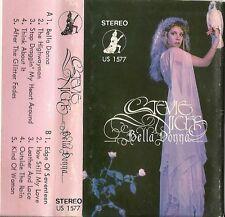 "RARE: Stevie Nicks - Bella Donna (Cassette IMPORT 1981) Version ""US 1577"""