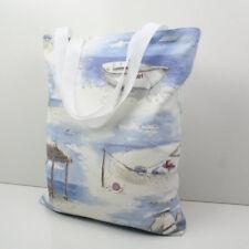 Handmade Tote,Shopping ,Library,Nappy,Swim Bag- Sea side