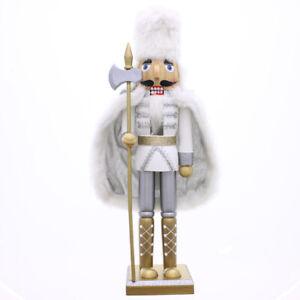 New Inspired Design Christmas Large Nutcracker Faux Fur Coat & Had Home Decor