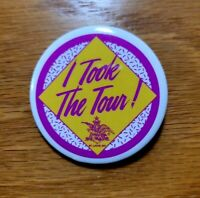 "BUDWEISER ""I Took The Tour"" Anheuser Busch Brewery Vintage Pinback Pin Button"