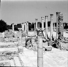 SALAMIS c. 1960 - 4 Négatifs Cité Antique - Négatif 6 x 6 - CHYPRE 28