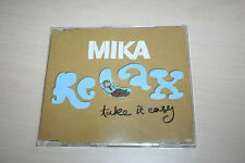 Mika -Relay take it easy-  MCD incl. Video