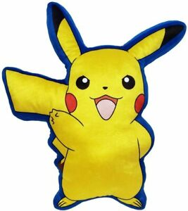 """Nintendo Pokemon PIKACHU 40"""" x 50"""" Silky Soft THROW BLANKET & PILLOW Plush"""