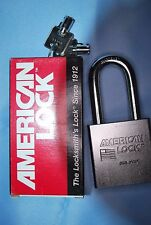 "American Lock 7301 Padlock with Rekeyable Tubular Key Cylinder, 7/16"" Shackle"