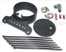 Supporto Per Contachilometri Nero per Harley-Davidson Black Speedo Gauge Mount