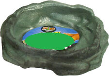ZOO MED REPTI ROCK WATER DISH XS REPTILE TURTLE FROG FREE SHIPPING IN THE USA