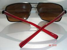 Nike AXON Sunglasses Matte Black/Crystal Red/Brown Lens EVO607 062 Sport
