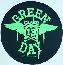 GREEN DAY Giant sew on BACKPATCH Official Brand New