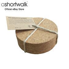 ashortwalk Eco Round Cork Coasters - Set of 4