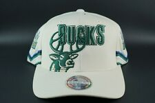 MITCHELL & NESS MILWAUKEE BUCKS JERSEY SNAPBACK 110 SWEATBAND HAT CAP NBA HWC