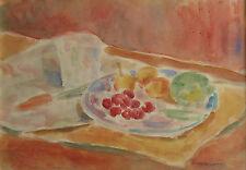 Pittore Enotrio Mastrolonardo (1911-1996) Acquarello