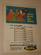 MOTTA PANETTONE DOLCE GIOIA DEL DONO=ANNI '50=PUBBLICITA=ADVERTISING=WERBUNG=454