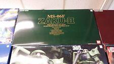 Bandai Brand New Nib 1/60 Perfect Grade Pg Gundam Ms-06F Zaku Ii [Can Ship Usa]
