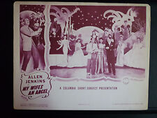1943 MY WIFE'S AN ANGEL - LOBBY CARD - SEXY SHOWGIRLS - COLUMBIA COMEDY SHORT