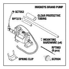 SCICAN Statim 2000, Statim 5000 PUMP KIT Invensys brand pump- RPI# SCP050