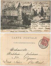 CPA 1905 illustration Château de Bridoire Coté Ouest RIBAGNAC 24 Dordogne 621 A