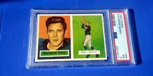 Topps 1957 Raymond Berry #94 Rookie RC PSA 5 EX Baltimore Colts Shelf Z2