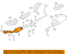 NISSAN OEM 12-14 Versa 1.6L-L4 Exhaust System-Front Pipe 200103AN6A