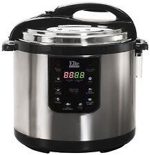 Elite Platinum Electric Pressure Cooker 10qt Stainless Electric Pressure NEW