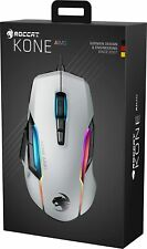 ROCCAT - Kone AIMO Wired Optical Gaming Mouse with RGB Lighting - White