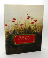 A. Norman Jeffares IRELAND'S LOVE POEMS  1st Edition 1st Printing