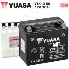 BATTERIA YUASA YTX12-BS 12V 10AH GILERA RUNNER VX 125 2005 2006 2007 2008 2009