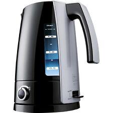 Melitta H 203-020304 Look Aqua Vario Black-Silver Kettle 2.400 Watt