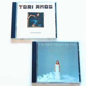 Tori Amos 2 CD LOT Little Earthquakes & Under The Pink 90s Music Album