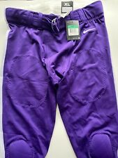 Nike Mach Speed Football Pants: Purple Men's Xl with Removable Knee Pads