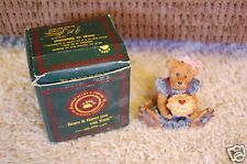 Boyds Bears Rare Bailey The Baker Clarion Iowa Version Resin With Box 1E