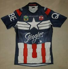 NRL EASTERN SUBURBS SYDNEY ROOSTERS PLAYER'S ISSUE GAME JERSEY #9