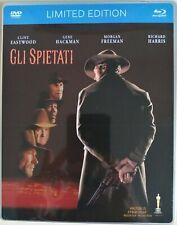 Gli spietati (Unforgiven) Blu-ray + DVD limited edition label steelbook