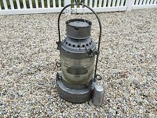 New York State Canal Lantern Nautical Vintage Antique Oil Mohawk Lamp