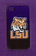 LSU TIGERS Rigid 1 Piece Matte Case / Cover iPhone 4 / 4S (Design 4)+Stylus