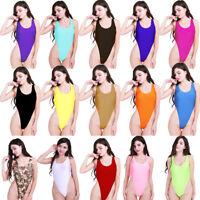 Women One-Piece Swimsuit Swimwear Monokini Bikini Bodysuit Thong Leotard Top