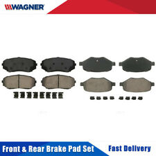 Front & Rear 8 PCS Wagner Ceramic Disc Brake Pads Set For FORD EDGE 2011-2014